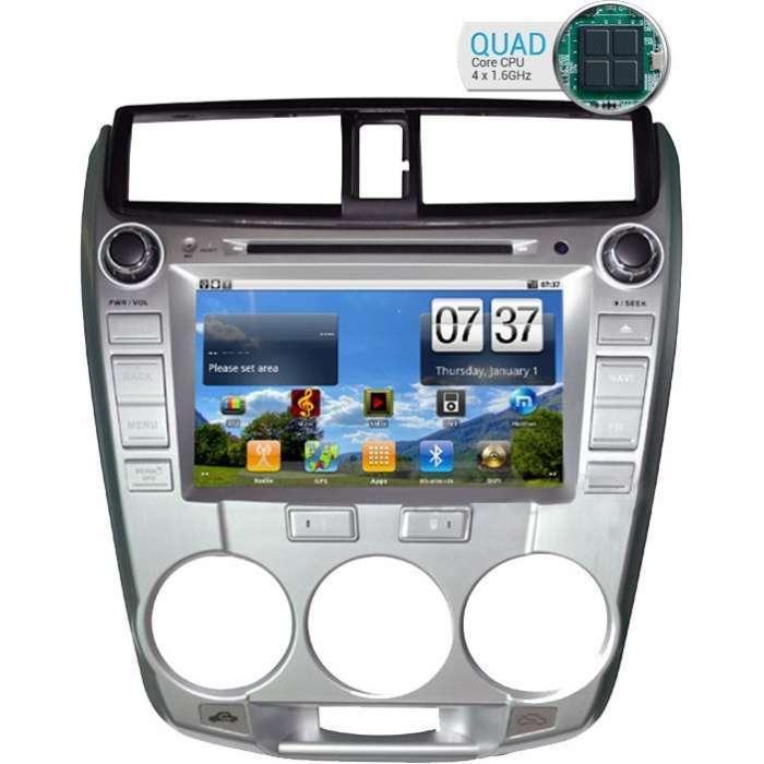 """Radio DVD Navegador GPS Android para Honda City 1.5L (8"""")"""