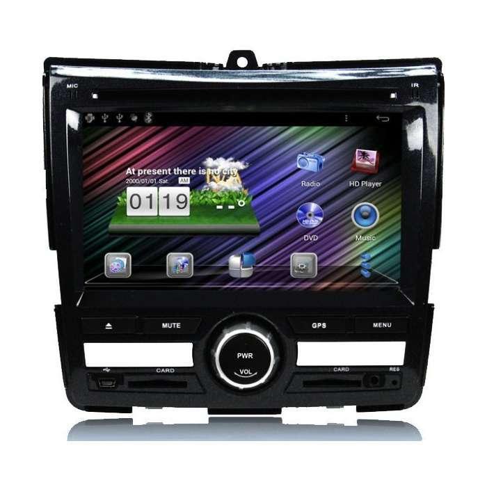 "Radio DVD Navegador GPS Android para Honda City (6,2"")"
