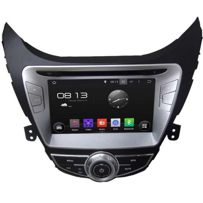 "Radio Navegador GPS Android para Hyundai Elantra (8"")"