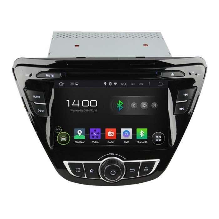 "Radio DVD Navegador GPS Android para Hyundai Elantra (8"")"