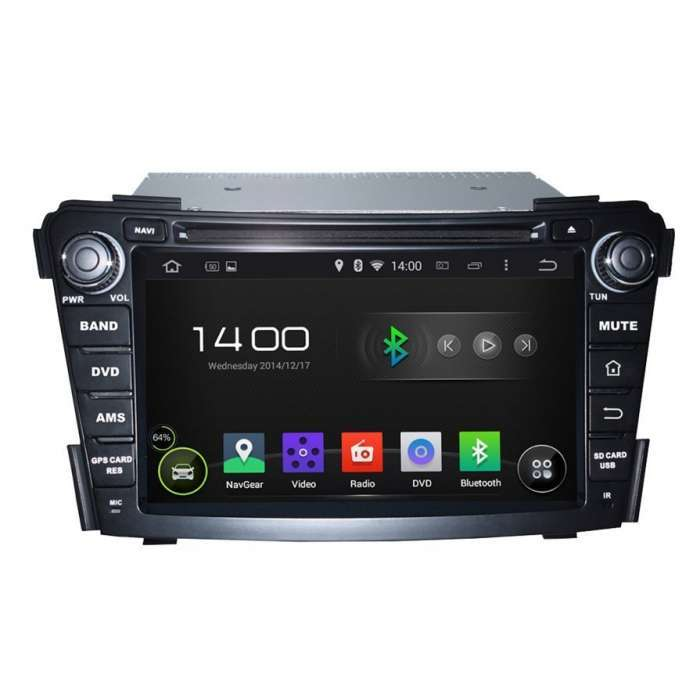 "Radio DVD Navegador GPS Android para Hyundai I40 (7"")"