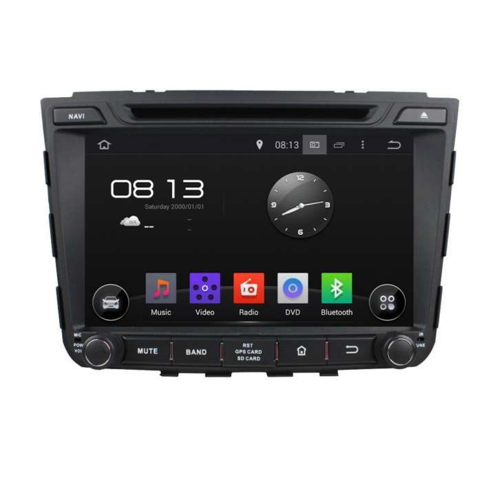 "Radio DVD Navegador GPS Android para Hyundai IX25 (8"")"