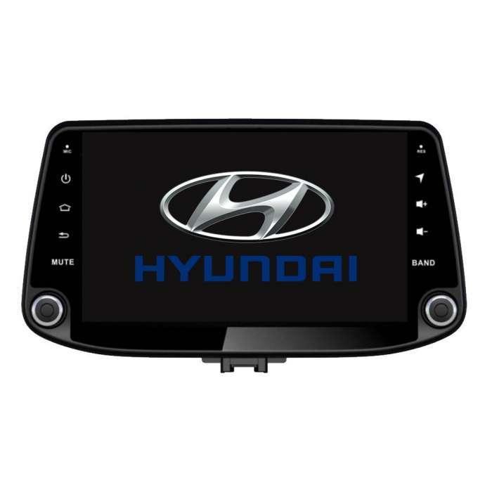 "Radio DVD Navegador GPS Android para Hyundai I30 (9"")"