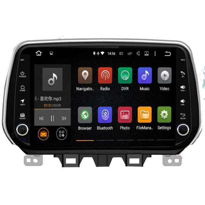 "Radio Navegador GPS Android para Hyundai Tucson (8"")"