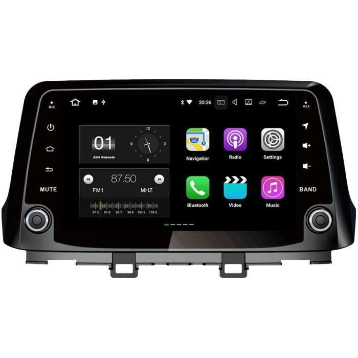 "Radio Navegador GPS Android para Hyundai Kona (9"")"