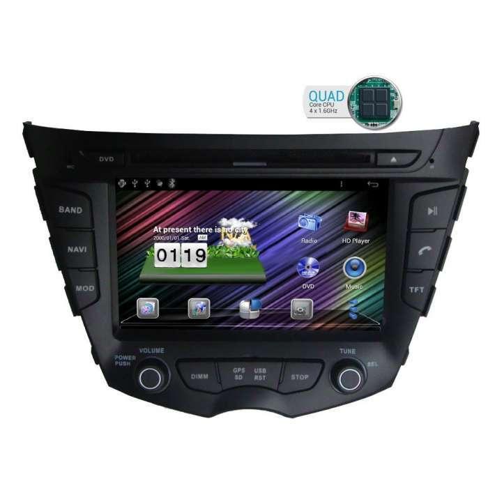 "Radio DVD Navegador GPS Android para Hyundai Veloster (7"")"