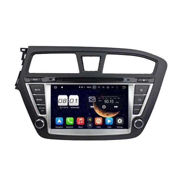 "Radio DVD Navegador GPS Android para Hyundai I20 (7"")"