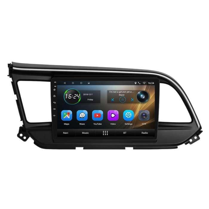 "Radio Navegador GPS Android para Hyundai Elantra (9"")"