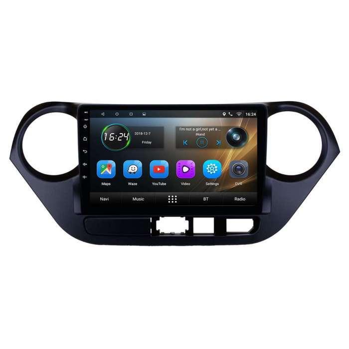 """Radio Navegador GPS Android para Hyundai i10 (9"""")"""