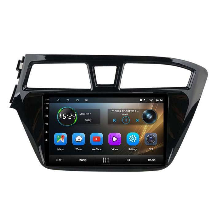 """Radio Navegador GPS Android para Hyundai i20 (9"""")"""