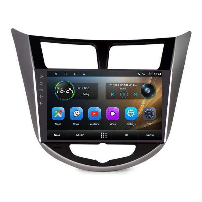 """Radio Navegador GPS Android para Hyundai I25 (9"""")"""
