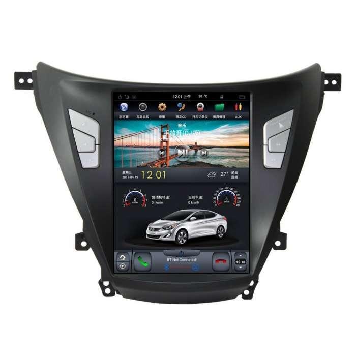 "Radio Navegador Android Tipo Tesla para Hyundai Elantra (10,4"")"