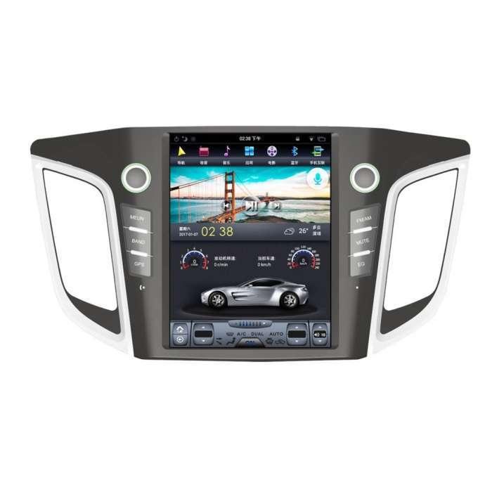 "Radio Navegador Android Tipo Tesla para Hyundai IX25 (10,4"")"