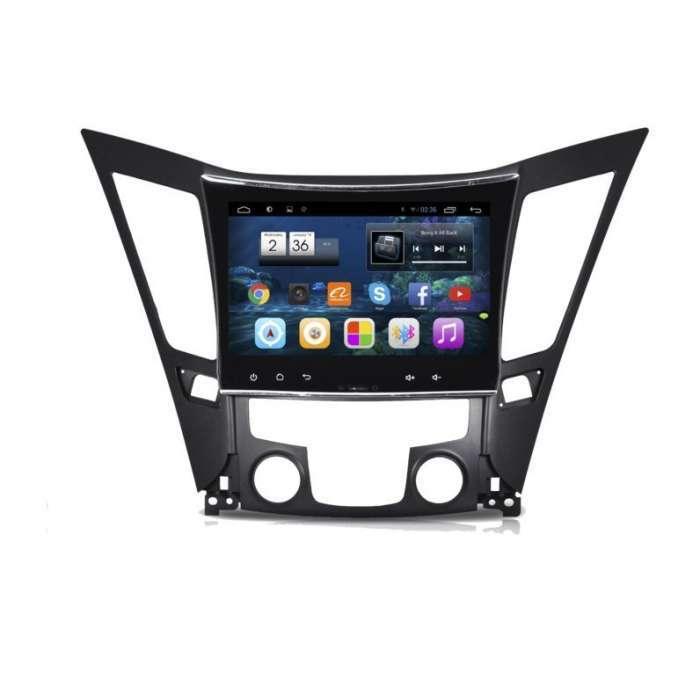 """Radio Navegador GPS Android para Hyundai Sonata (10,2"""")"""