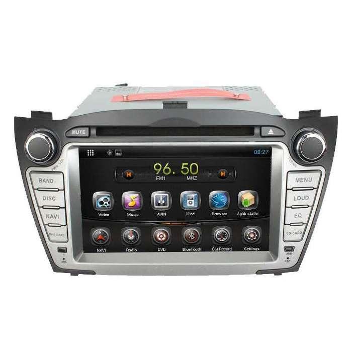 "Radio DVD Navegador GPS Android para Hyundai IX35 / Tucson (7"")"