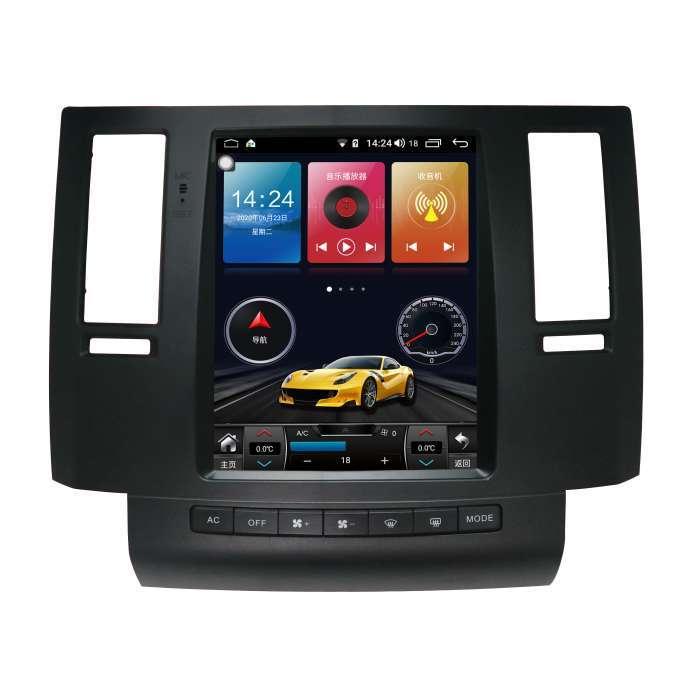 "Radio Navegador Android Tipo Tesla Infinity FX (10,4"")"