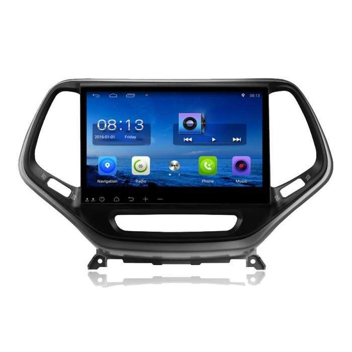 """Radio Monitor Navegador GPS Android para Jeep Grand Cherokee (10,2"""")"""