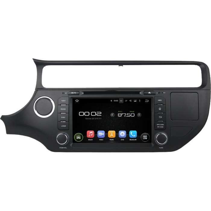"""Radio DVD Navegador GPS Android para Kia Rio (8"""")"""