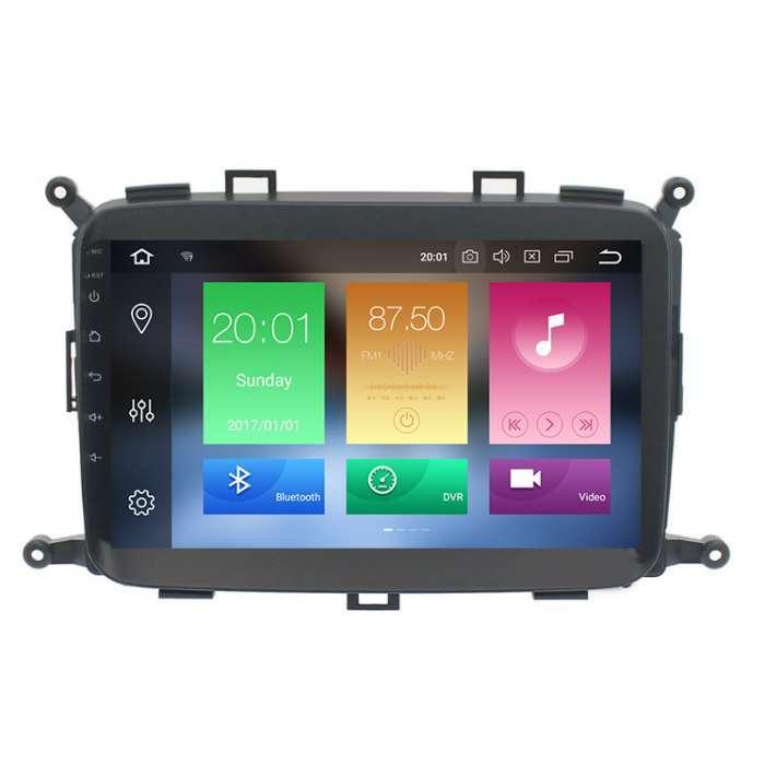 """Radio DVD Navegador GPS Android para Kia Carens (9"""")"""
