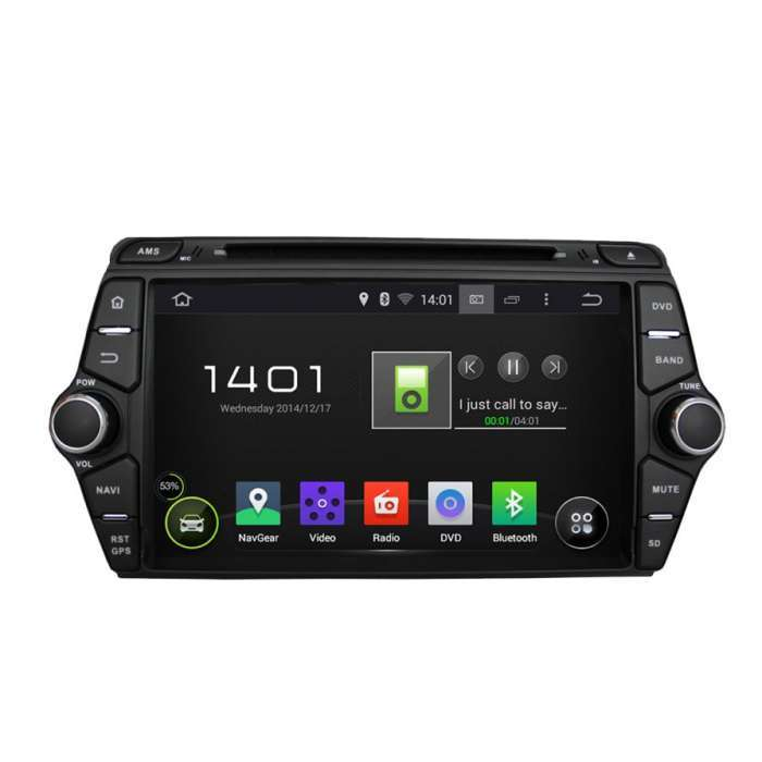 """Radio DVD Navegador GPS Android para Kia Ceed (8"""")"""