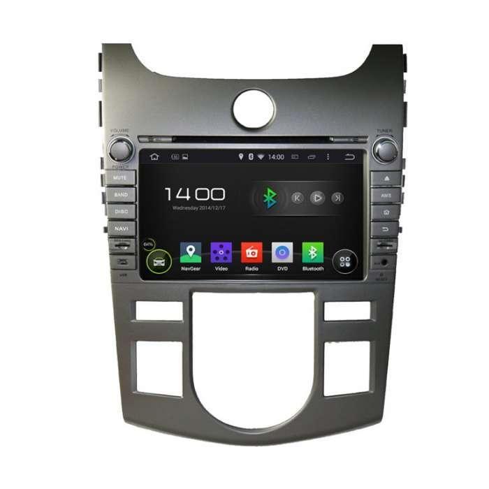 "Radio DVD Navegador GPS Android para Kia Forte (8"")"