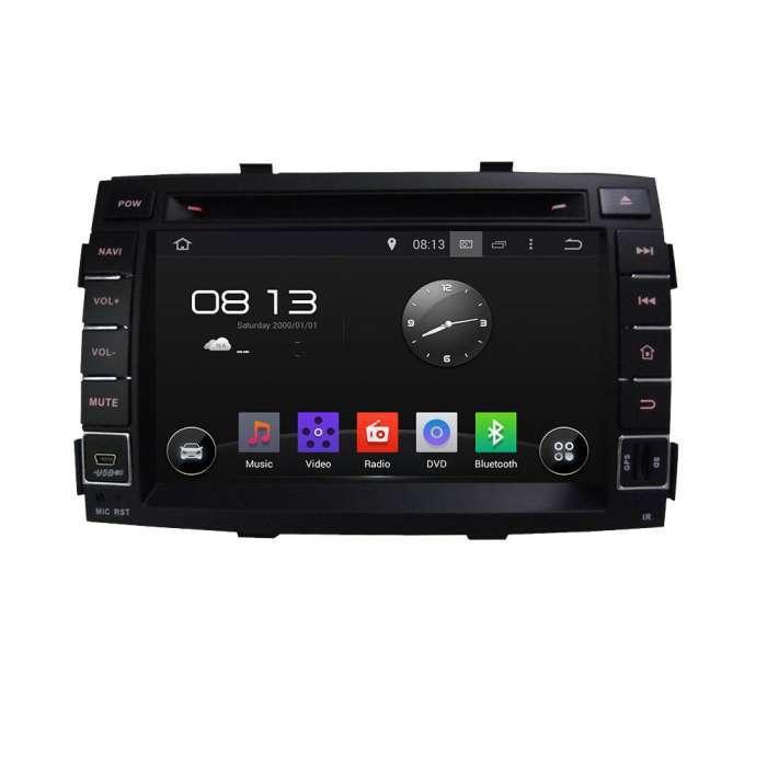 "Radio DVD Navegador GPS Android para Kia Sorento (8"")"