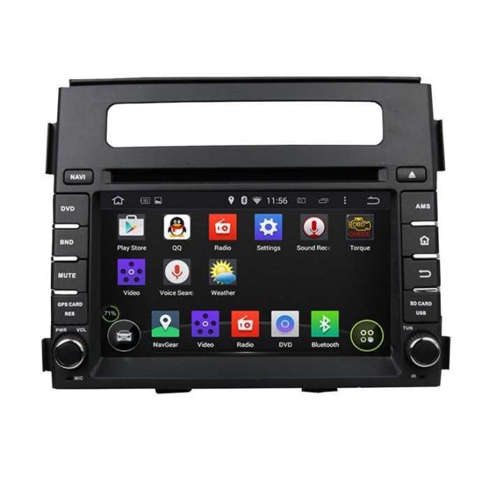 "Radio DVD Navegador GPS Android para Kia Soul (6,2"")"
