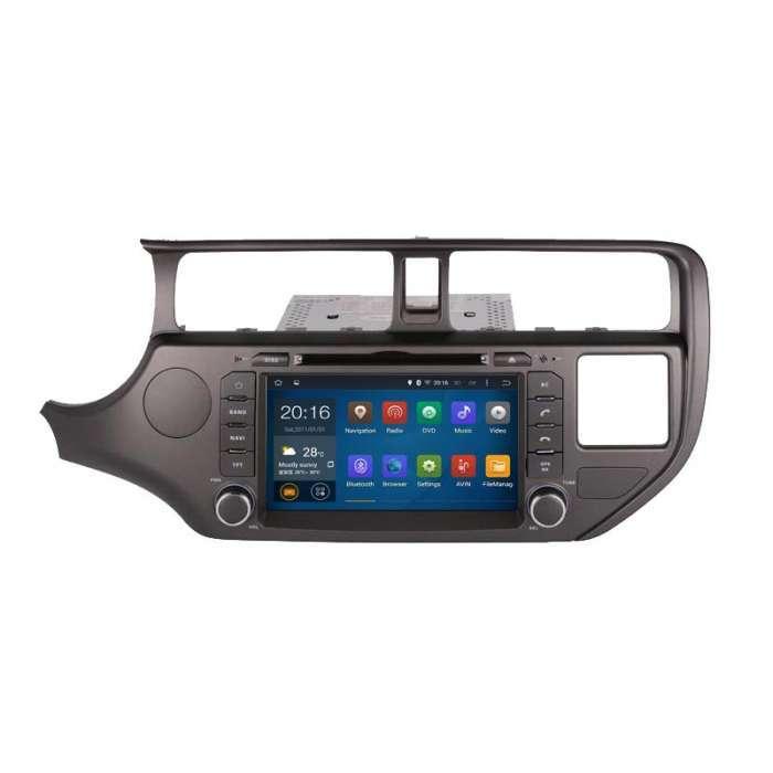 "Radio Navegador GPS Android para Kia K2 / Rio (8"")"