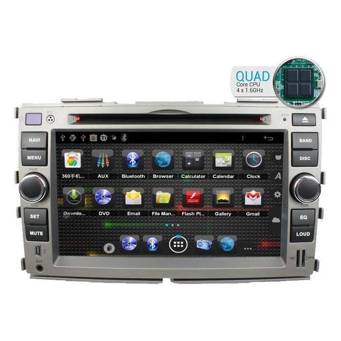 "Radio DVD Navegador GPS Android para Kia Forte (7"")"