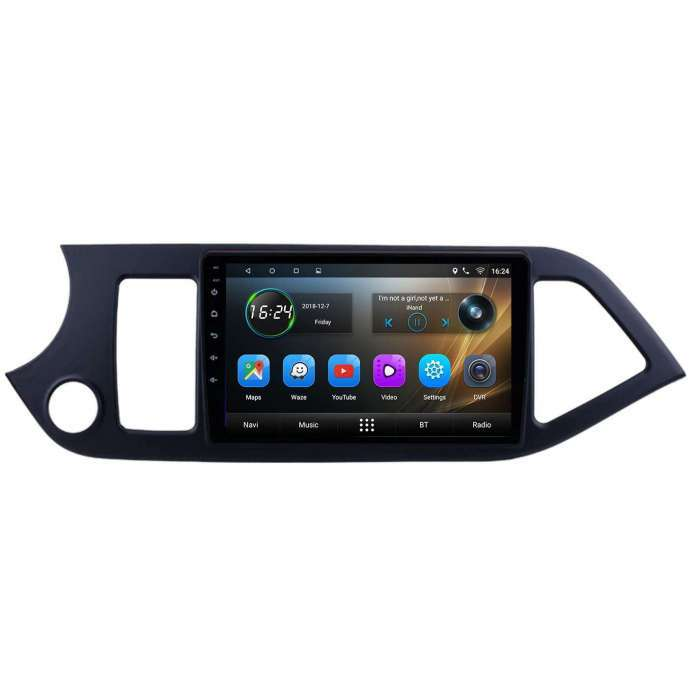 "Radio Navegador GPS Android para Kia Picanto (9"")"