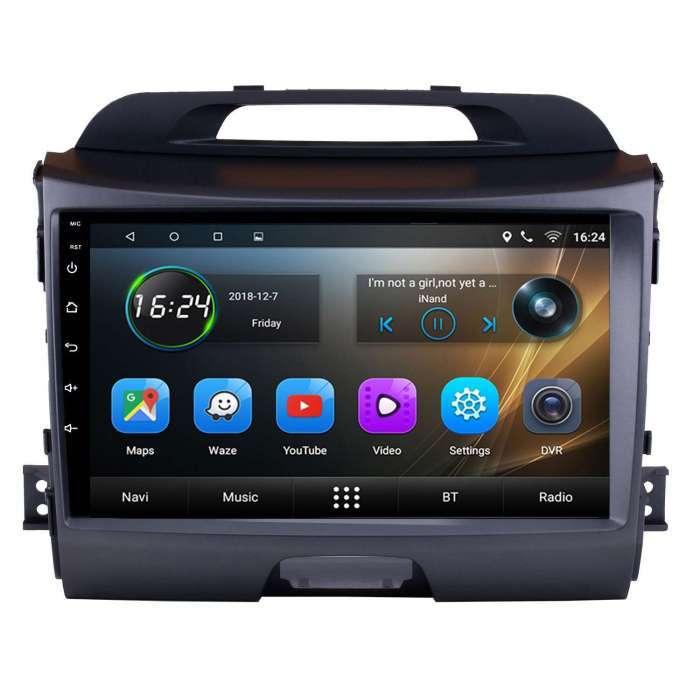 "Radio Navegador GPS Android para Kia Sportage (9"")"