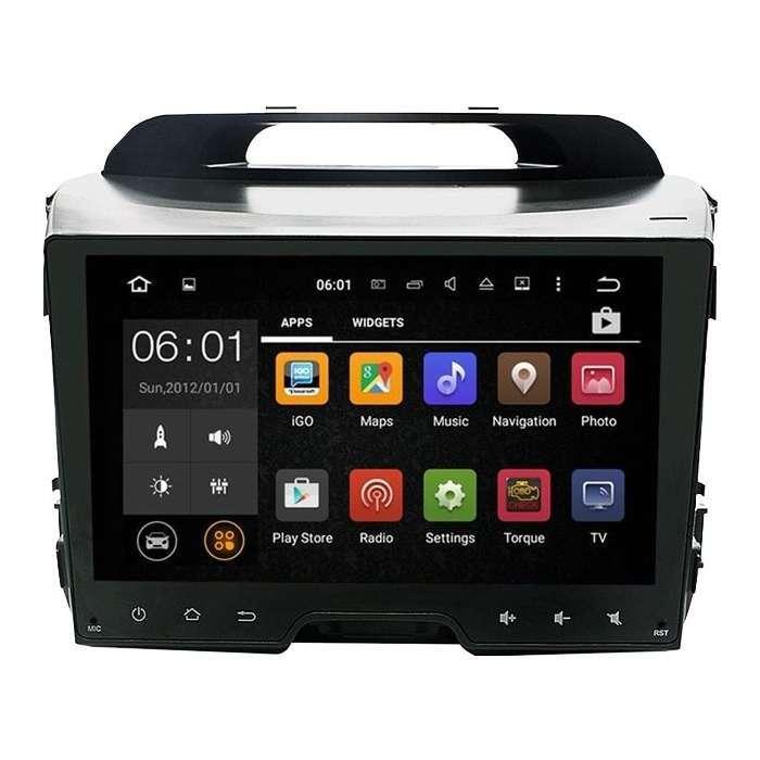 "Radio Navegador GPS Android para Kia Sportage R (9"")"