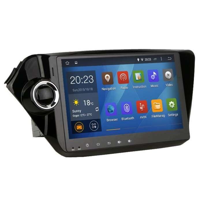"Radio DVD Navegador GPS Android para Kia Rio / K2 (10,1"")"
