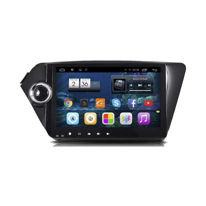 "Radio Navegador GPS Android para Kia Rio / K2 (9"")"