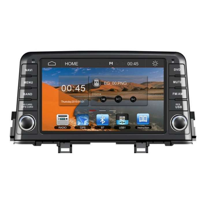 "Radio Navegador GPS Android para Kia Picanto (8"")"