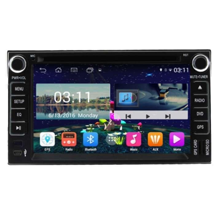 "Radio DVD Navegador GPS Android para Kia (6,5"")"