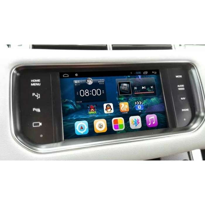 Interface GPS para Range Rover Evoque