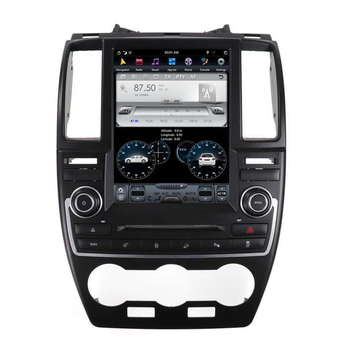 "Radio Navegador Android Tipo Tesla para Land Rover Freelander (10,4"")"