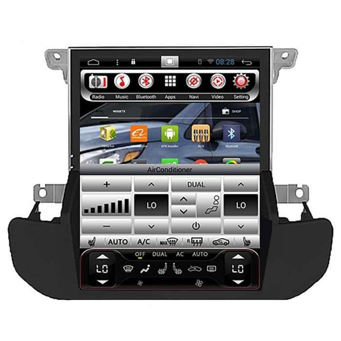 """Radio Navegador Android Tipo Tesla para Land Rover Discovery 4 (10,4"""")"""