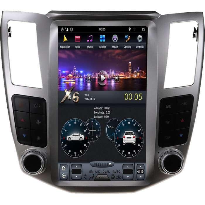 """Radio Navegador Android Tipo Tesla para Lexus RX (11,8"""")"""