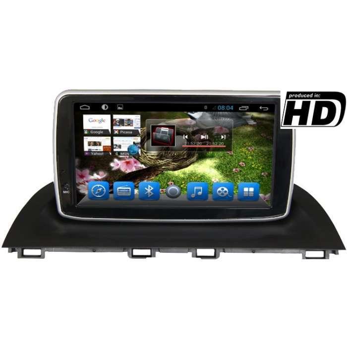 """Radio Navegador GPS Android para Mazda 3 (8"""")"""