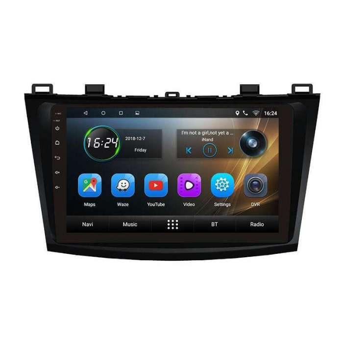 """Radio Navegador GPS Android para Mazda 3 (9"""")"""