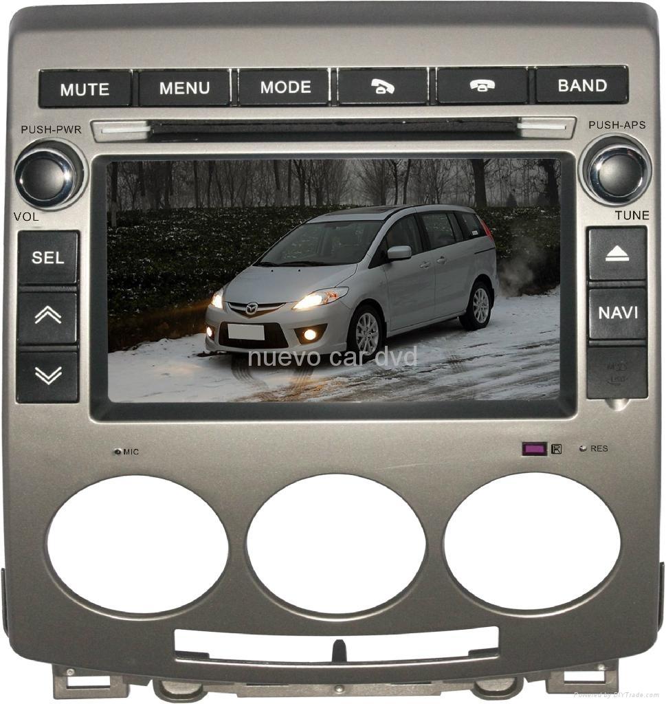 "Radio DVD Navegador GPS Android para Mazda 5 (7"")"