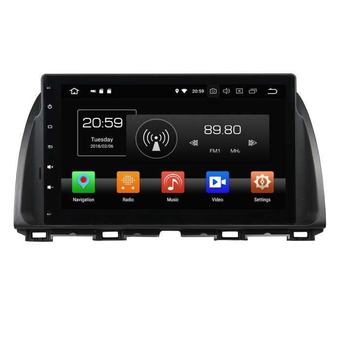 """Radio Navegador GPS Android para Mazda 5 (9"""")"""