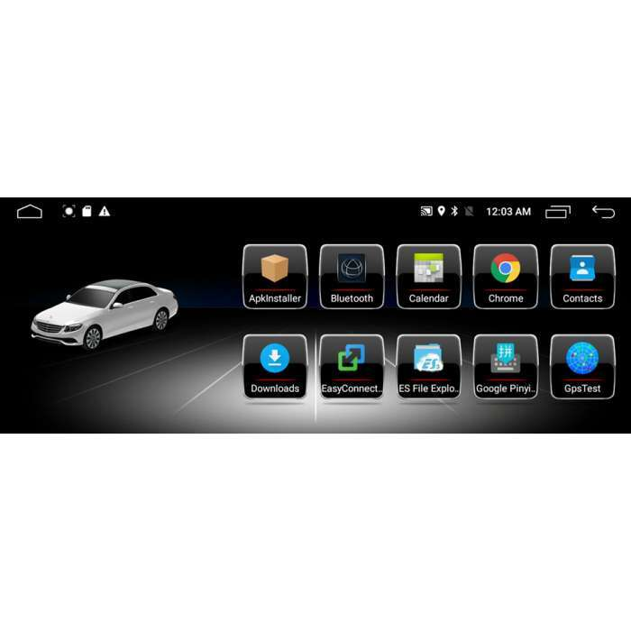 "Radio Navegador GPS Android para Mercedes SLK (9"")"