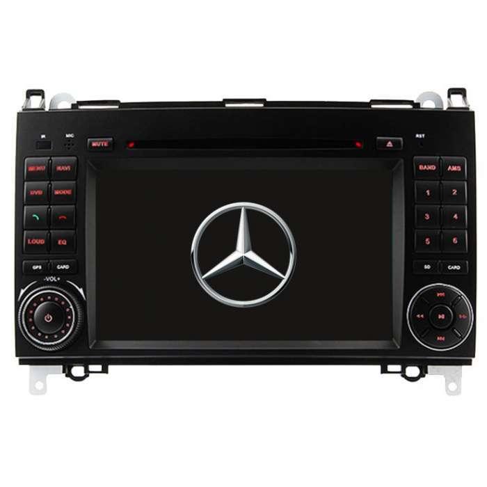 """Radio DVD Navegador GPS Android para Mercedes Clase A/B/Vito/Viano (7"""")"""