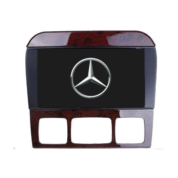"""Radio Navegador GPS Android para Mercedes Clase S (7"""")"""