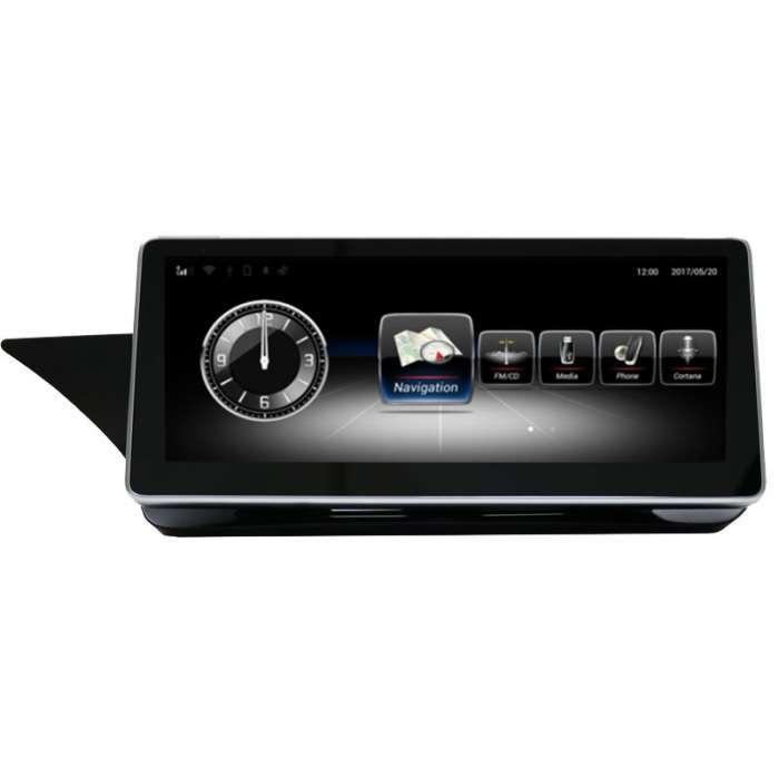 """Radio Navegador GPS Android para Mercedes Clase E Coupe (10,25"""")"""