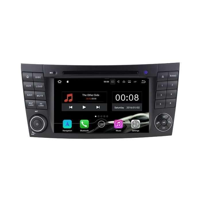 """Radio DVD Navegador GPS Android para Mercedes Clase E (7"""")"""
