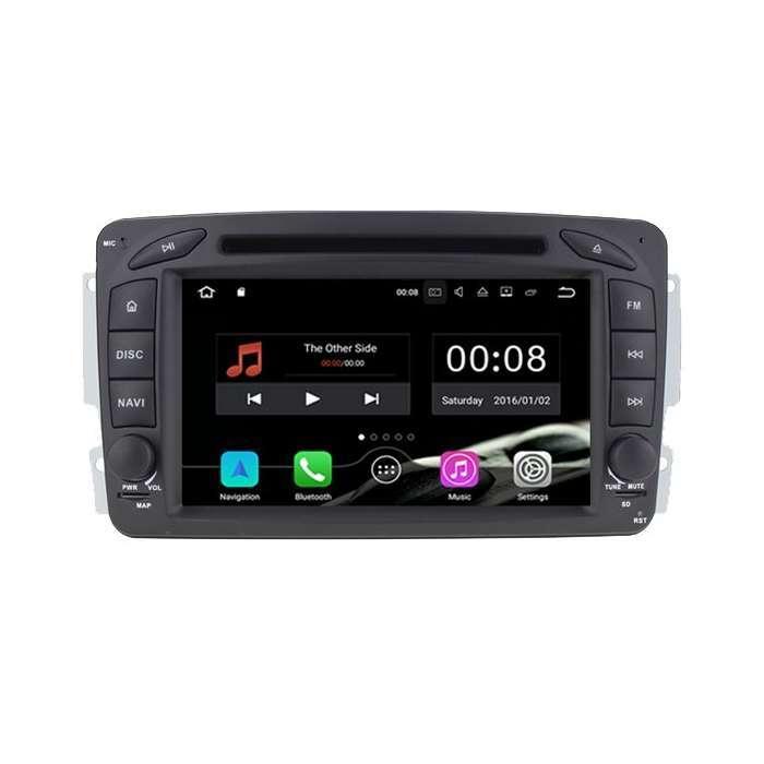 """Radio DVD Navegador GPS Android para Mercedes Benz (7"""")"""